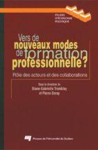 Vers de nouveaux modes de formation professionnelle ? (ebook)