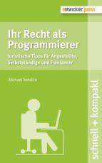 Ihr Recht als Programmierer (ebook)