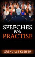 Speeches for Practise (ebook)