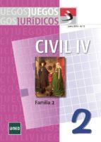 Juegos jurídicos. Derecho civil IV: familia 2 (ebook)
