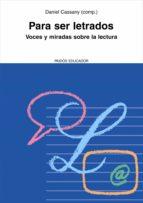 Para ser letrados (ebook)