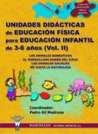 UNIDADES DIDÁCTICAS DE EDUCACIÓN FÍSICA PARA EDUCACIÓN INFANTIL DE 3-6 AÑOS (VOLUMEN II) (ebook)