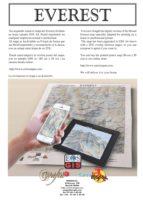 MAPA DEL MONTE EVEREST EN HOJAS DIN-A4 (ebook)