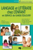 Langage et littératie chez l'enfant en service de garde éducatif (ebook)