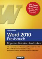 Word 2010 Praxisbuch (ebook)
