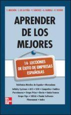 EBOOK-APRENDER DE LOS MEJORES. 16 LECCIONES DE EXITO DE EMPRESAS ESPA|OLAS. (ebook)
