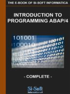Introduction to Programming Abap/4 - Complete (ebook)