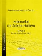 Mémorial de Sainte-Hélène (ebook)