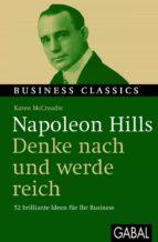 """Napoleon Hills """"Denke nach und werde reich"""" (ebook)"""