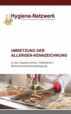 Umsetzung der Allergen-Kennzeichnung (ebook)