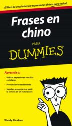Frases en chino para Dummies (ebook)