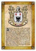 Apellido Alexandre / Origen, Historia y Heráldica de los linajes y apellidos españoles e hispanoamericanos