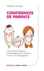 Confidences de parents (ebook)