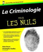 La Criminologie Pour les nuls (ebook)