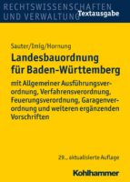 Landesbauordnung für Baden-Württemberg (ebook)