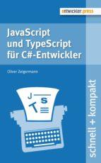 JavaScript und TypeScript für C#-Entwickler (ebook)