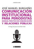 Comunicación institucional para periodistas (ebook)