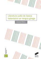 Literatura judía de época helenística en lengua griega (ebook)