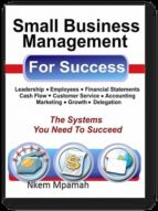 Small Business Management For Success (ebook)