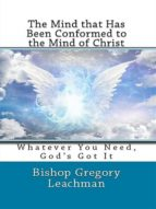 The Mind that Has Been Conformed to the Mind of Christ (ebook)