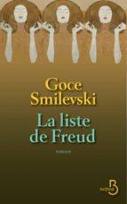 La liste de Freud (ebook)
