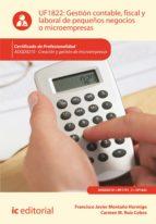 Gestión contable, fiscal y laboral de pequeños negocios o microempresas. ADGD0210  (ebook)