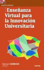Ense�anza virtual para la innovaci�n universitaria