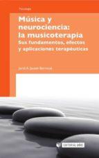 Música y neurociencia: la musicoterapia (ebook)