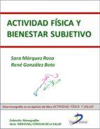 Actividad física y bienestar subjetivo (ebook)