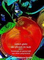 rötlich glüht der pfirsich im laub band II (ebook)
