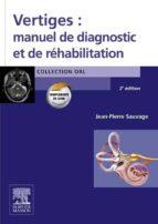 Vertiges : manuel de diagnostic et de réhabilitation (ebook)