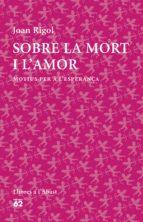 Sobre la mort i l'amor (ebook)