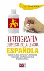 Ortografía correcta del español (ebook)