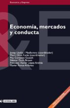 Economía, mercados y conducta (ebook)