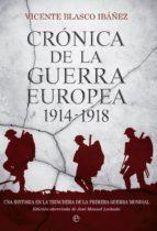 Crónica de la guerra europea 1914-1918 (ebook)