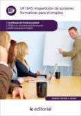 Impartici�n de acciones formativas para el empleo. SSCE0110