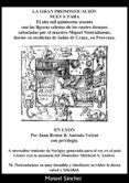 LA GRAN PRONOSTICACI�N NUEVA PARA 1560? DE NOSTRADAMUS