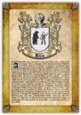 Apellido Rillo (PDF de Lectura e Impresión)